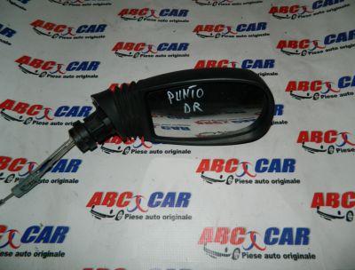 Oglinda dreapta manuala Fiat Punto 2000-2010