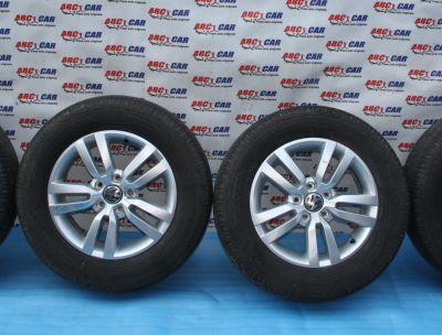 Set jante aliaj R16 VW Tiguan (5N) 2007-2016, 6.5Jx16H2, ET33, 5x112 cod: 5N0601025AD
