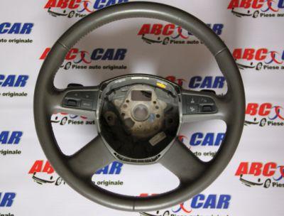Volan piele cu padele si comenzi Audi A6 4F C6 2004-2011 4F0419091AK