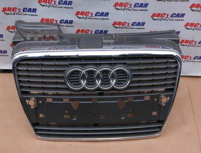 Grila centrala bara fata model cu senzori Audi A4 B7 8E 2005-2008