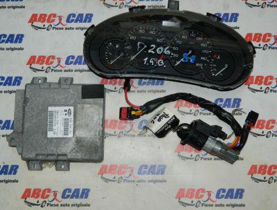 Kit pornire Peugeot 206 1999-2010 1.4 Benzina Cod: 9639908180