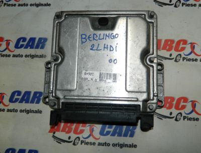Calculator motor Citroen Berlingo 1997-2007 2.0 HDI 9636255480