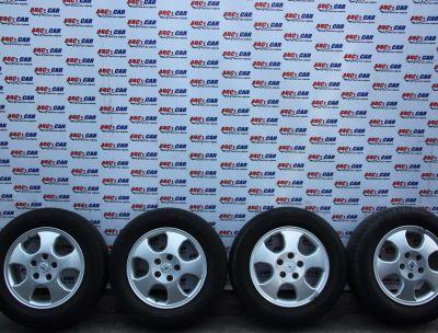 Set jante aliaj cu anvelope de vara PIRELLI 195/65 R15 Opel Astra G 1999-2005 INTRA 60505