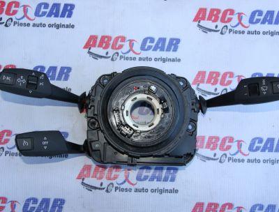 Ansamblu manete (semnalizare, tempomat, stergatoare)cu spirala volan BMW Seria 3 E90/E91 2005-2012 6989557-02