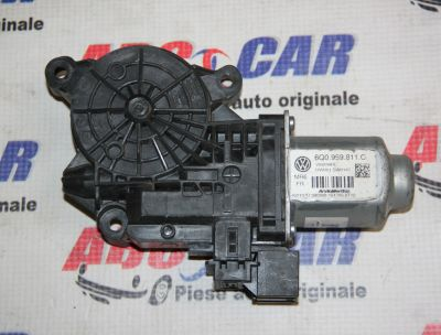 Motoras macara usa stanga spate VW Polo 9N 2002-20096Q0959811C