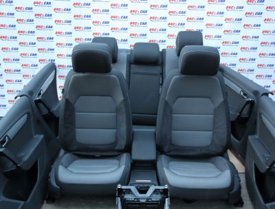 Interior full electric textil + alcantara VW Passat B7 2010-2014 Alltrack