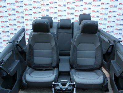 Interior full electric textil cu piele alcantara VW Passat B7 2010-2014 Alltrack