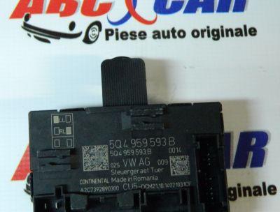 Modul control usa stanga fata Seat Leon 5F1 2012-In prezent 5Q4959593B
