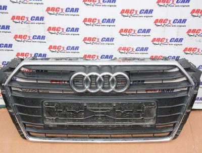 Grila bara fata Audi A4 B9 8W 2015-In prezent