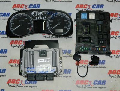 Kit pornire Peugeot 307 2001-2008 1.6 HDI 109 CP Cod: 9658576080