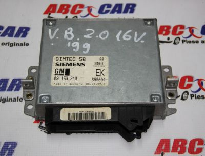 Calculator motor Opel Vectra B 1995-2002 2.0 Benzina 16V 09153240EK