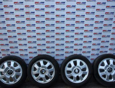 Set jante aliaj 4X100 cu anvelope M+S 185/55 R14 Seat Arosa 1997-2004 6H0601025A