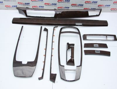 Set ornamente mahon interior BMW Seria 7 E65 2002-2008 4775607308F1