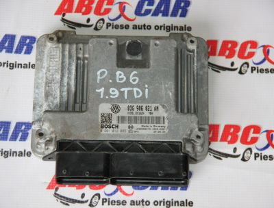 Calculator motor VW Passat B6 2005-2010 1.9 TDI 03G906021AN