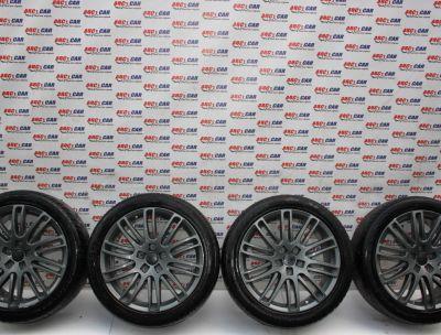 Set jante aliaj R20, 5x130, ET52, 8JX20 VW Touareg (7L) 2003-2010 cod: KBA48379