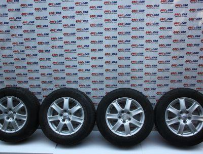 Set jante aliaj cu anvelope 215 / 65 / R16 C VW T52004 - 2015