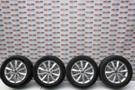 Set jante aliaj R16 Skoda Octavia 3 (5E3) ET40, 5x112, 6.5JX16H2 2013-prezent5E0601025AD