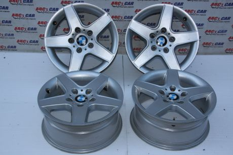 Set jante aliaj R16 BMW Seria 1 E81/E87 2005-2011, 7JX16H2, ET38 cod: X7570638T