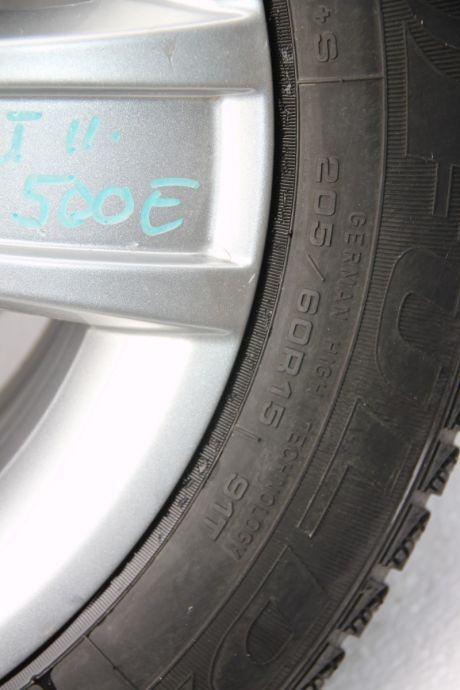 Set jante aliaj R15 Skoda Octavia 2 (1Z3) ET50, 6.5Jx15H2, 5x1122004-2013 1Z0601025S