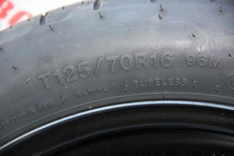 Roata de rezerva slim R16 Skoda Octavia 3 (5E3) 2013-20195Q0601027BJ