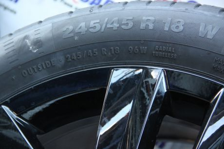 Set jante aliaj R18, 8JX18H2, ET40 VW Arteon 2017-prezent cod: 3G8601025Q,3G8601025R