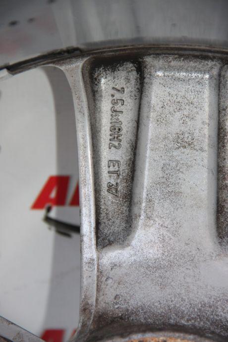 Set jante aliaj R18 Opel Astra H/GTC 2005-2009, ET37, 7.5Jx18H2, 5x110