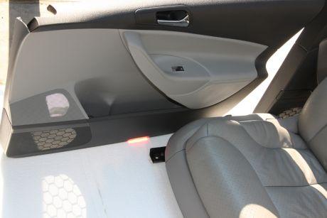 Interior din piele crem full electriccu memorie si incalzire in scaune VW Passat B6 2005-2010